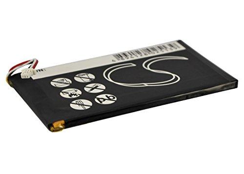 techgicoo 1400mAh compatible con Creative Zen Vision M 30GB, Zen Vision M (60GB) (7/pcs toolskits incluido)