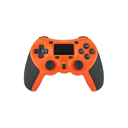 WSMLA Manija inalámbrica Bluetooth PS4 Mango PS4 anfitrión Mango Mango PS4 inalámbrica Bluetooth (Color : Orange)