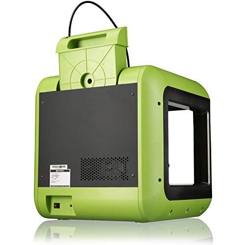 Impresora 3D de Bresser Saurus con Wi-Fi y Pack de filamentos con Carcasa Abierta para PLA, Ideal para Principiantes con Instrucciones Completas y Software