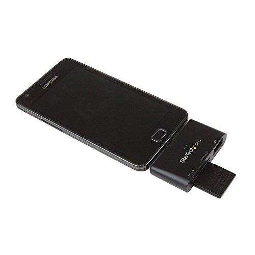 StarTech.com FCREADU2OTGB - Lector de Tarjetas (SD, Micro SD, USB OTG)