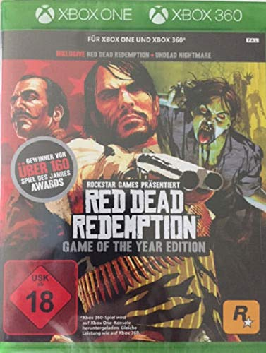 Red Dead Redemption GOTY Classics - Xbox 360 [Importación alemana]