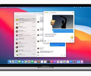 Aumenta tus conversaciones con los mensajes de MacOS Big Sur