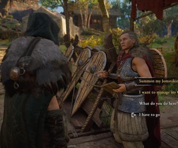 Cómo reclutar a Jomsvikings en el Valhalla de Assassin's Creed