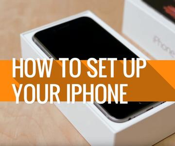 Cómo configurar un nuevo iPhone