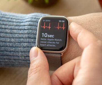 Cómo usar la aplicación de ECG en tu Apple Watch