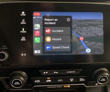 Cómo informar de una incidencia de tráfico con Apple Maps en iOS 14.5