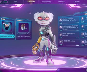Ratchet y Clank: Rift Aparte los mejores conjuntos de armadura y cómo encontrarlos
