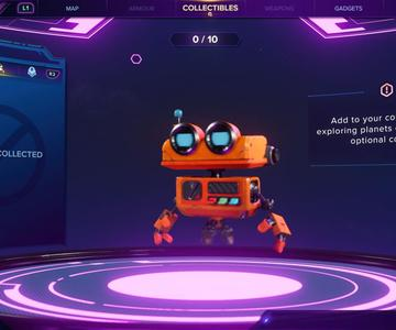 Ratchet y Clank: Rift Aparte Ubicaciones de Spybot