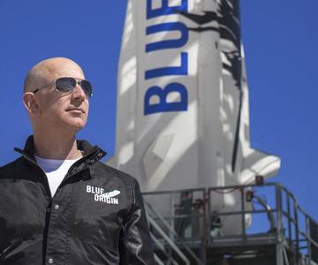 Ver el lanzamiento del cohete Blue Origin de Jeff Bezos